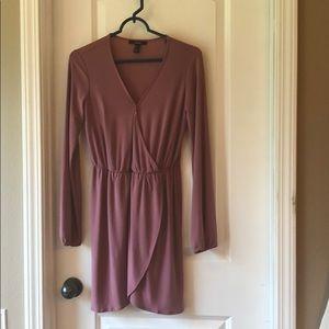 Mauve colored Forever21 Dress